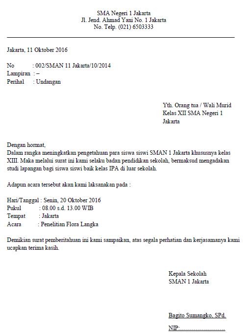 Cara Membuat Surat Resmi (Beserta Struktur Surat) : Humbel